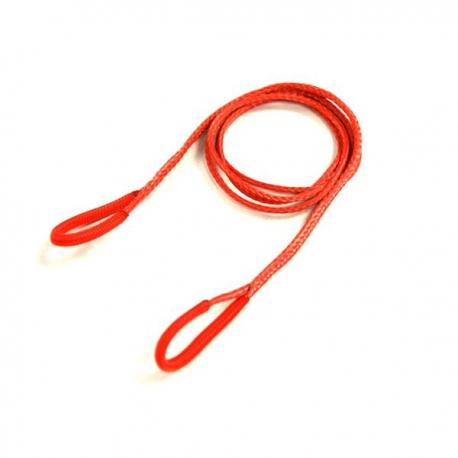 Aramid tether strap